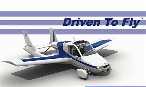 The Terrafugia Transition Flying Car Airplane Is Taking