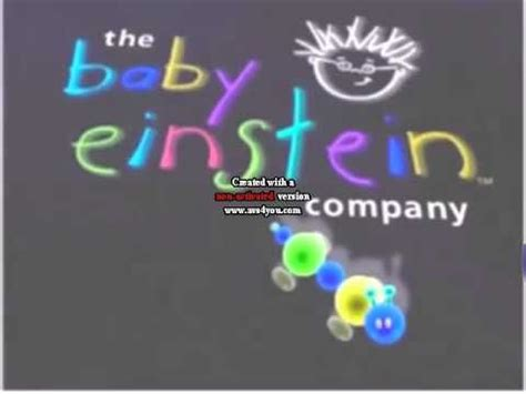 Baby Einstein Logo by the Sock Puppets App in G Major