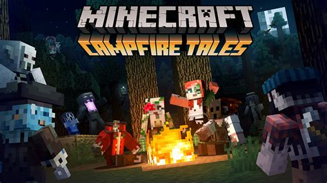 Campfire Tales skin pack released for Minecraft Pocket and