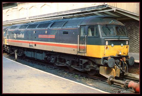 Scotrail Class 47 Carlisle   Having brought a train from