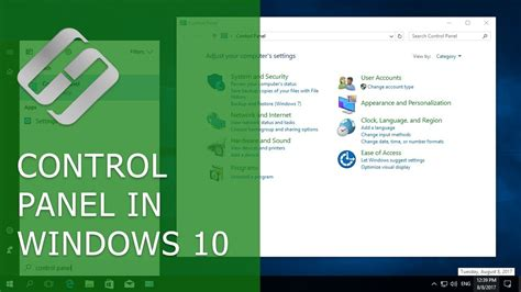 How to Open Control Panel in Windows 10 and Bring it Back