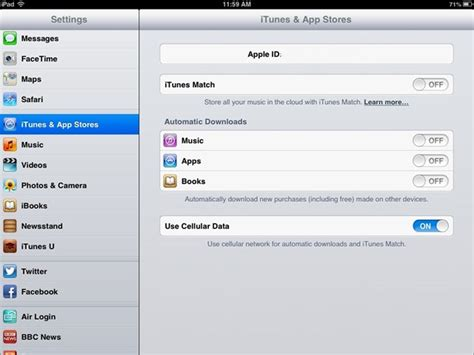 iPad Tips: How to Change Your iTunes Store Location | iPad