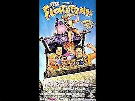 Opening To The Flintstones 1994 VHS - YouTube
