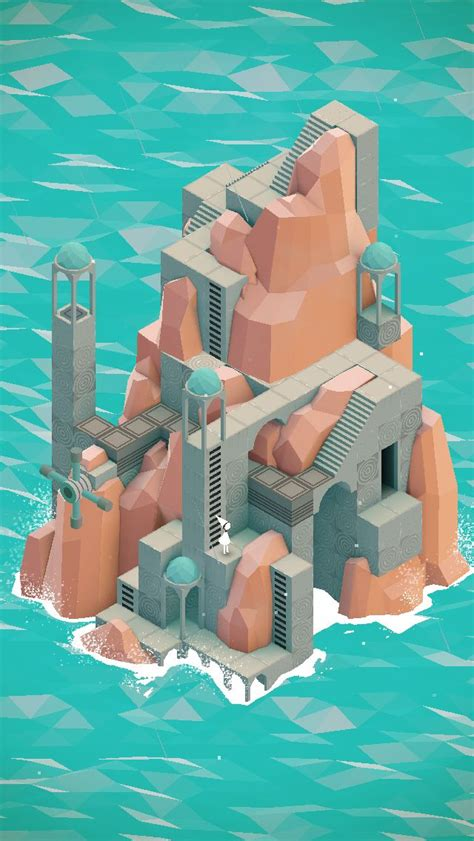 Isometric - Monument Valley by Ustwo Games   배경