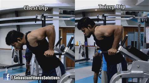 Chest Dip vs Tricep Dip - Why one is Great and the other