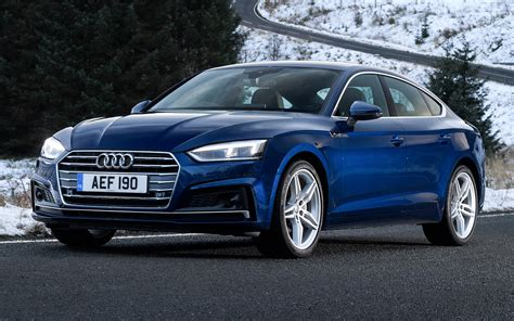 2017 Audi A5 Sportback S line (UK) - Wallpapers and HD