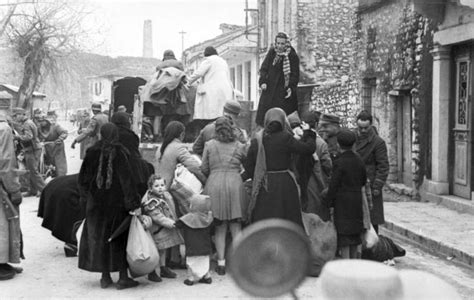 The German Occupation, Deportation and Destruction   The
