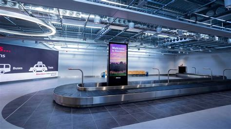 Aberdeen airport completes first phase of terminal