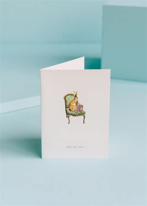 Just For You Greeting Card | TokyoMilk