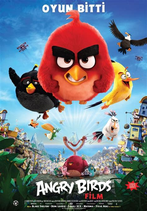 Trailer and Poster of The Angry Birds Movie : Teaser Trailer