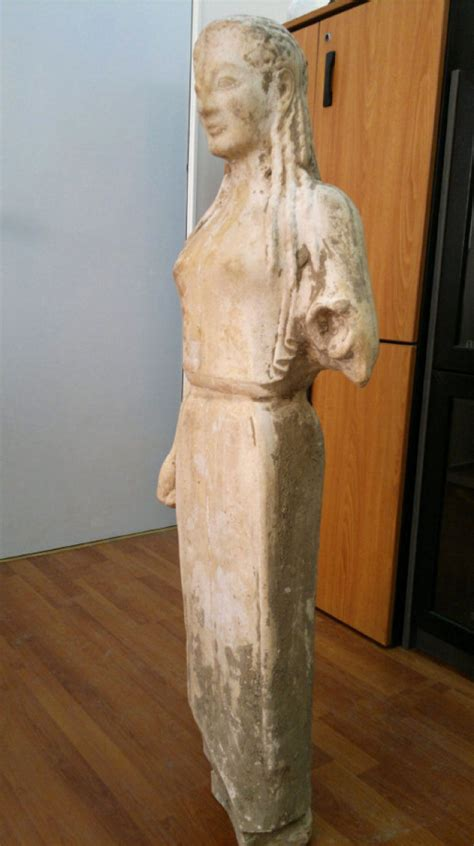 'Ancient' Greek statue found in goat pen a forgery