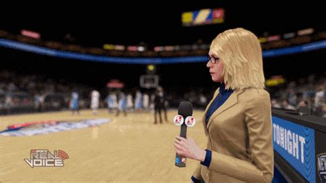 Minor Glitches Can Help NBA 2K15's Sideline Reporter