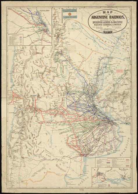 Map of the Argentine Railways - World Digital Library