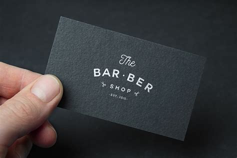 """Logo and identity for """"THE BAR BER SHOP"""" on Behance"""