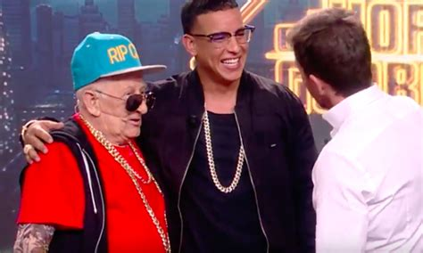 Daddy Yankee, 92-Year-Old Daddy Melquiades Share Stage