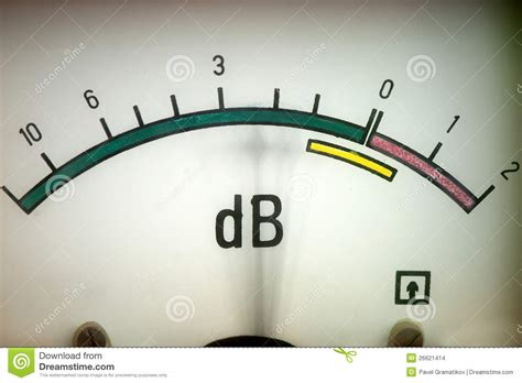 Sound Level Meter Stock Images - Image: 26621414