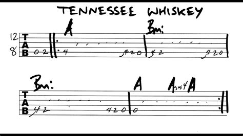 Tennessee Whiskey (song) Chord - Chord Choices
