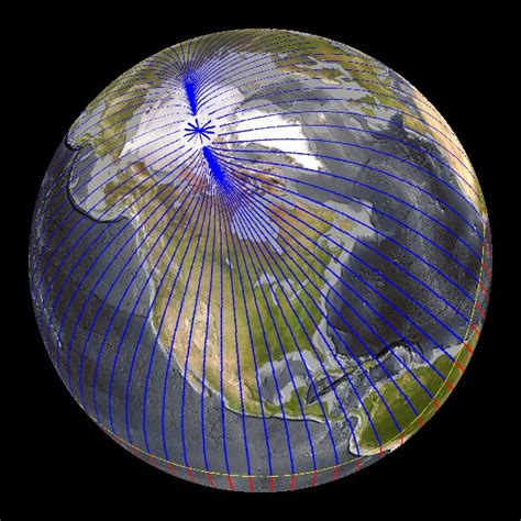 Earth's Magnetic Lines Dataset   Science On a Sphere