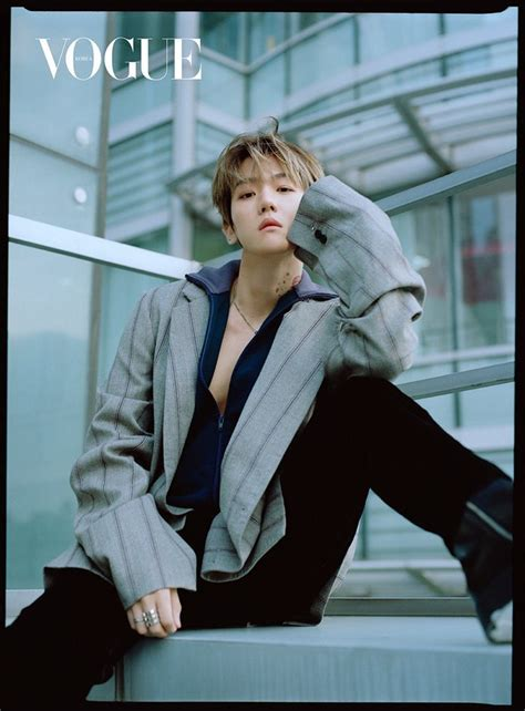 W Korea's May issue cover featuring EXO's Baekhyun has