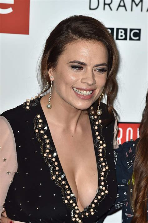 hayley atwell at the 'howard's end' photocall at bfi