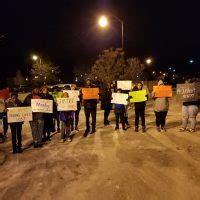 Friends and family protest Beloit police over shooting