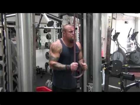 Band Pushdowns - Tricep Exercises - YouTube